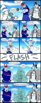 Comic Commission: Ice Spell by CaseyLJones
