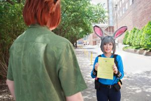 Would be nice to have a partner: Judy Zootopia by firecloak