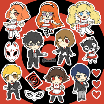 Persona 5 Maid and Butler DLC by GhostlyStatic