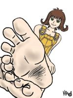 Selphie's Soles by butthead1992