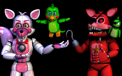Scott, Why did you give Rockstar foxy a Voice? by The-Smileyy