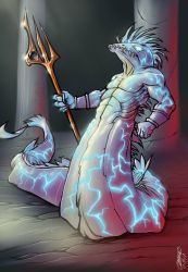 Electric Eel diety of Kuo-Toa  by phix701