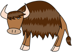 Earth Bison by BlueHecate