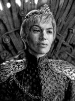 Queen Cersei by slightlymadart