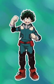 DEKU THE GREATEST HERO ~ by That-oneartist