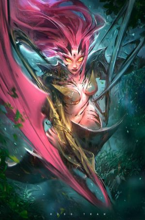 ZYRA! : YouTube by rossdraws