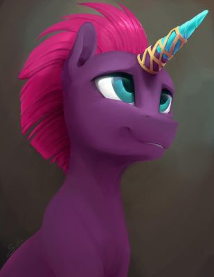 Commission: Tempest's Horn by SilFoe