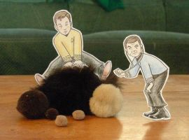 Paper Trek--Tribble Troubles by chill13
