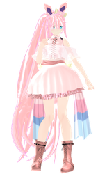 pkmn-MMD-NC .:. Sylveon + Download by acxrs