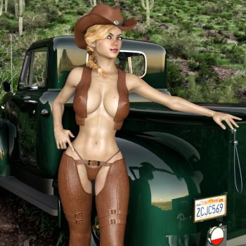 Wanna Lift In My Truck? by Roy3D