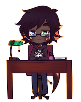 The Desk Worker [C] by LucciolaCrown
