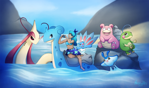 Full Water - Pokemon Trainer by Norwlin