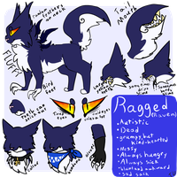 Ragged Reference (old) by Stitched-Raven