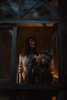 The Witcher 3 - Corine Tilly and Sarah by MilliganVick