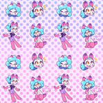 Dollie Wallpaper by CloudedPink