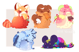 YCH result -Summer Pacapillars- by WiviAdopts