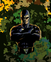 Phantom By Wendell Cavalcanti Color by Miguel Rude by miguelrude