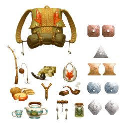 DnD - Items by M0AI