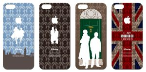 SHERLOCK iPhone5 covers by 403shiomi