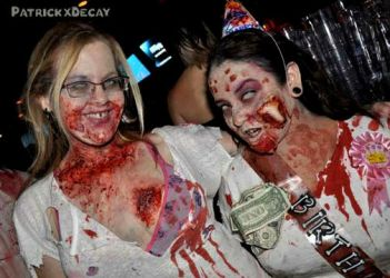 Zombie Gals by howsthatwork1
