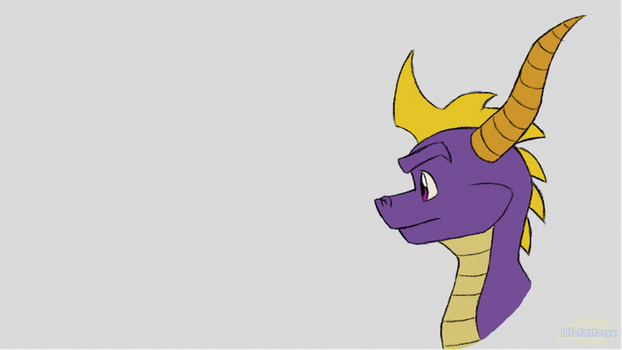 Spyro Breathing Fire Animation Test by Lifefantasyx