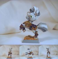 Table-Top Miniature:Xenith(Fallout Equestria) by NPCtendo