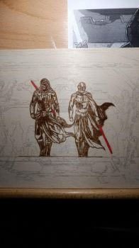 Revan and Malak Unfinished by 9FIVE7