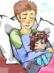 Throwback Thursday w/ Alecks and Emily by mexicananime06