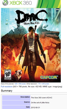 NT's DMC Alt Title: Little Nicky the Game! by thebloodreaver