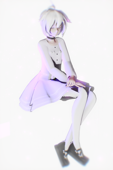 [MMD] Pastel Collab done! vflower by Somebody-tyan