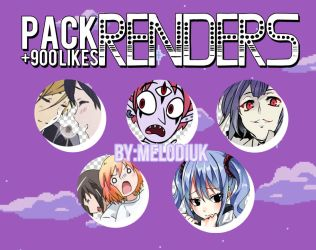 |Pack de renders +900| by MelodiUK