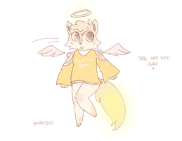 Angel Adopt Auction (Closed) by sharkiiies