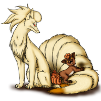 Vulpix and evo