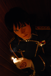 Roy Mustang Cosplay by mojs