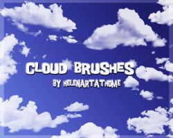 Cloud and Ray Brushes by Helenartathome