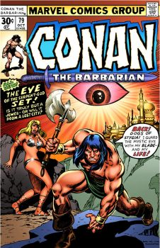 COVER RECREATIONS Conan the Barbarian 79 by BrianGraham