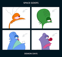 Space Goofs Demon Days by Giantic2001