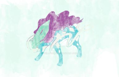Suicune by williamdpb