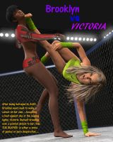 Fight! - Brooklyn v Victoria 1 by CrazyStupot