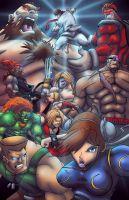 Street Fighter by Kyle-Fast