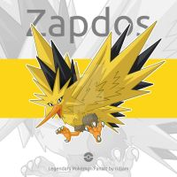 Legendary Pokemon Zapdos  by RIDJAM
