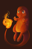 Charmander speedpaint by bylacey