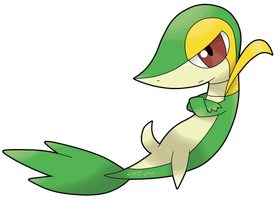 Snivy by WaitoChan