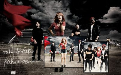 Paramore collage by danigranger