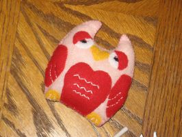 Whoo Loves Yooo? Owl Plushie by Red1332