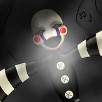 Five Nights At Freddy's 2 -The Puppet by LAK160