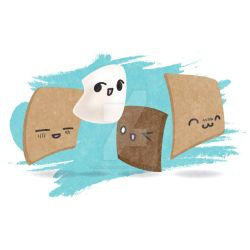 Illustration - Spot Illustration Trio - Hay guyz! by TheLipGlossary