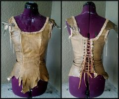 New Leather Bodice by Xavietta