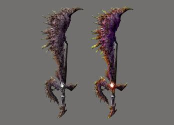 Imagine Souls - Shell Greatsword by 7cAB7