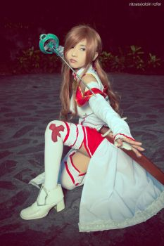 Asuna Yuuki from Sword art online by kuricurry
